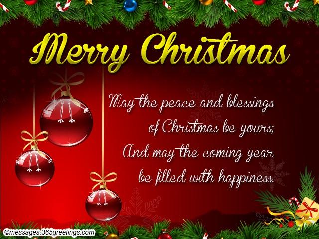 Abstract Christmas Message