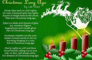 Art Christmas Poem 16831