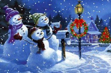Beautiful Christmas Scene 16854