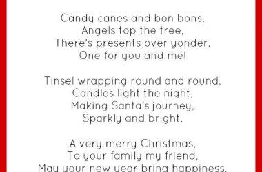 Best Christmas Poem 16835