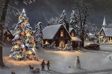 Fantastic Christmas Scene