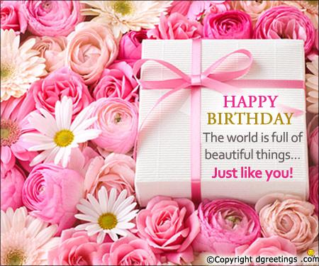 Free Happy Birthday Message
