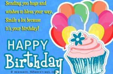 HD Happy Birthday Message 16821