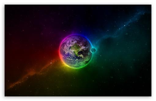 Colorful Earth Wallpaper