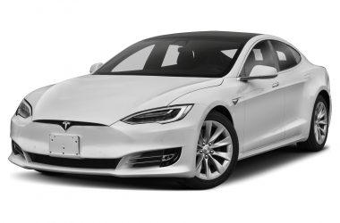 White Tesla S