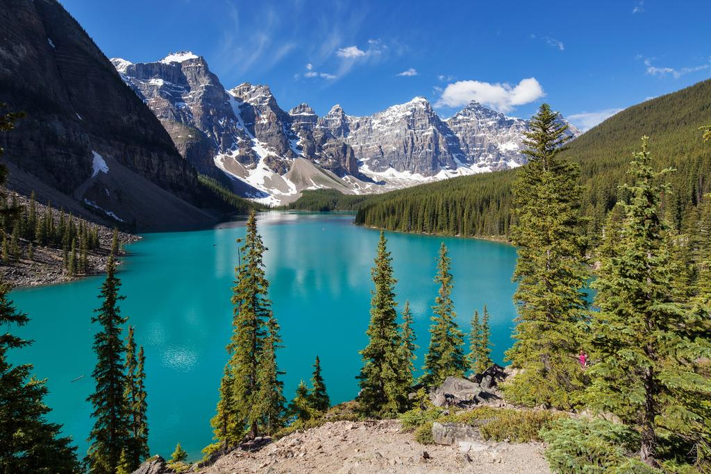 Moraine lake picture