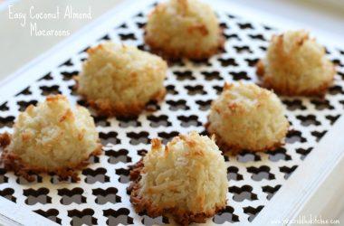 Food Almond Macroons
