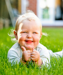 Smiling baby 17958