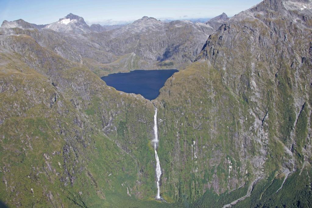 Widescreen Sutherland Waterfall