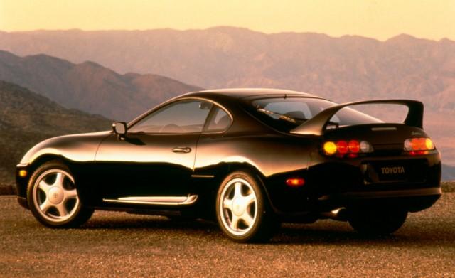 Black Toyota GR Supra