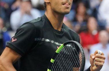 Playing Rafael Nadal
