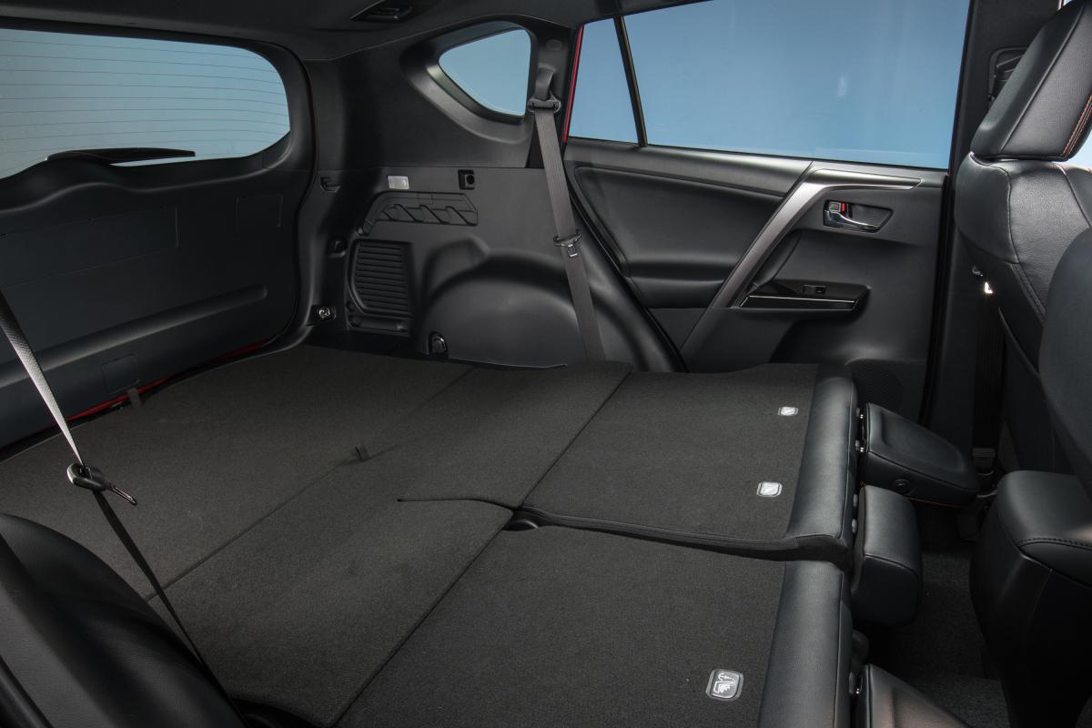 Super Rav4 Interior