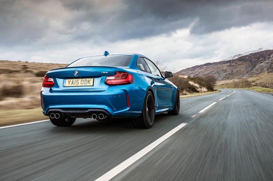 Blue BMW M2