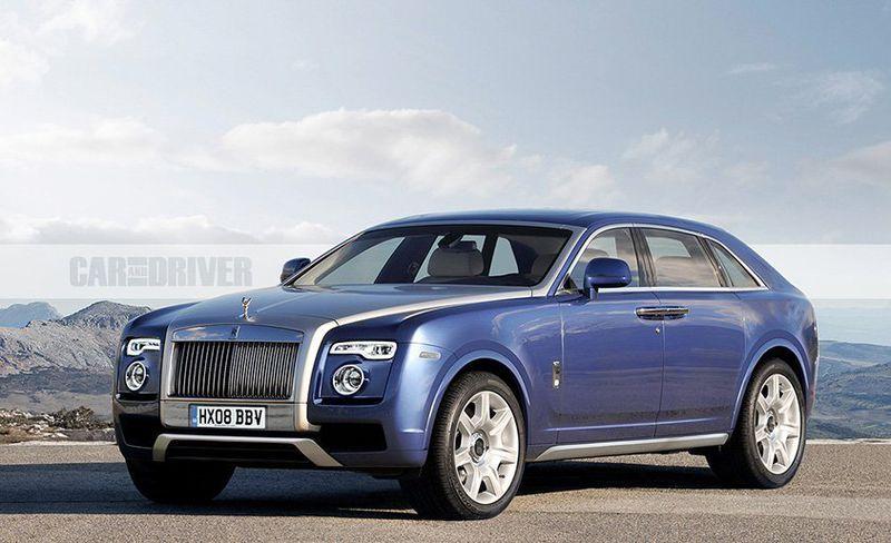 Blue Rolls-Royce Cullinan