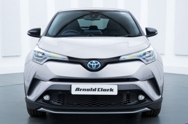 Grey Toyota C-HR