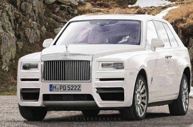 White Rolls-Royce Cullinan
