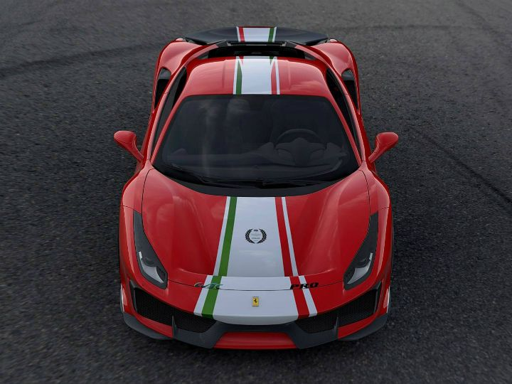 3D Ferrari 488 Pista