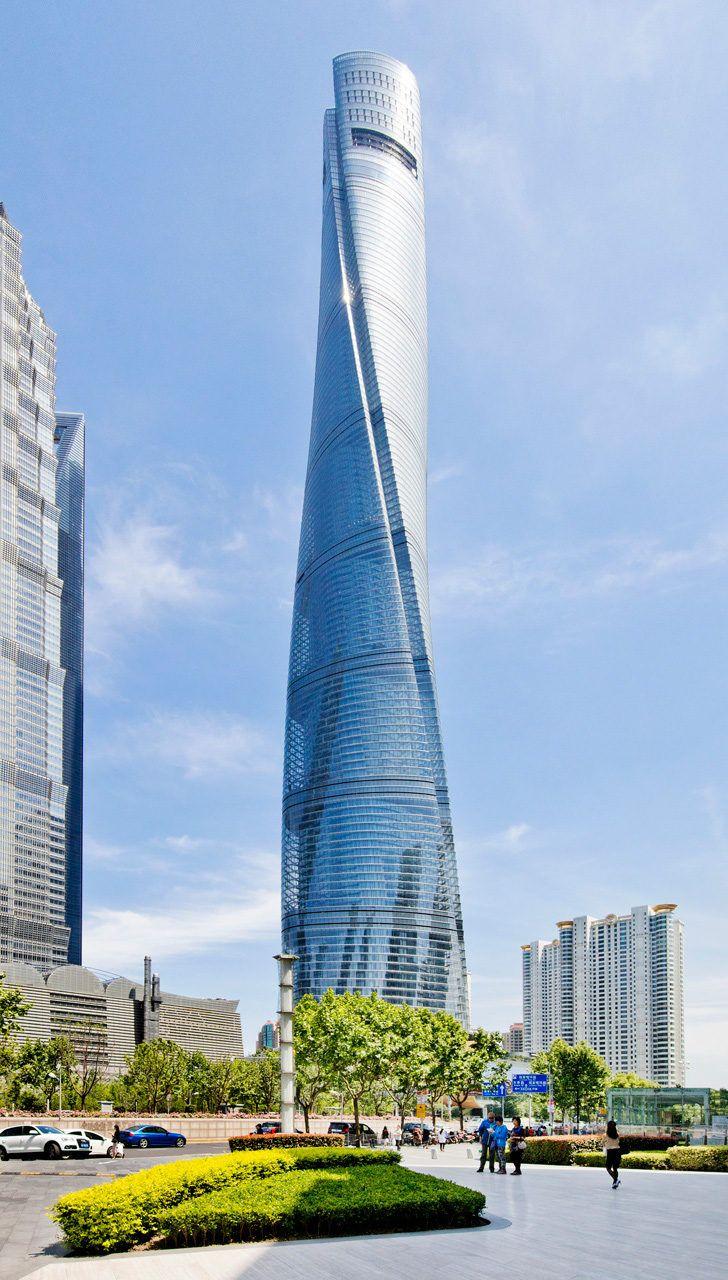Beautiful Shanghai Tower