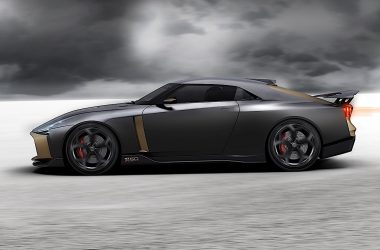 Black Nissan GT-R50