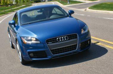 Blue Audi TT Quattro