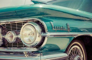 Green Vintage Car 21764