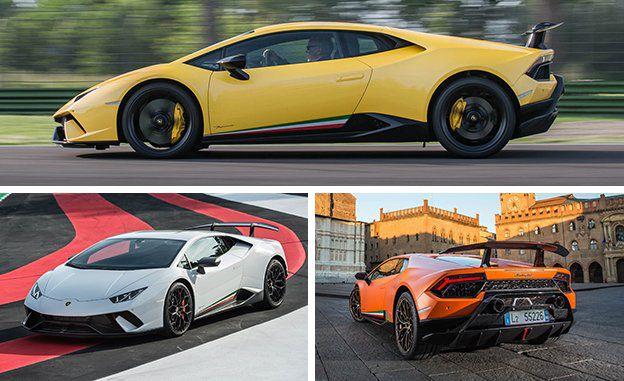 Yellow Lamborghini Huracan