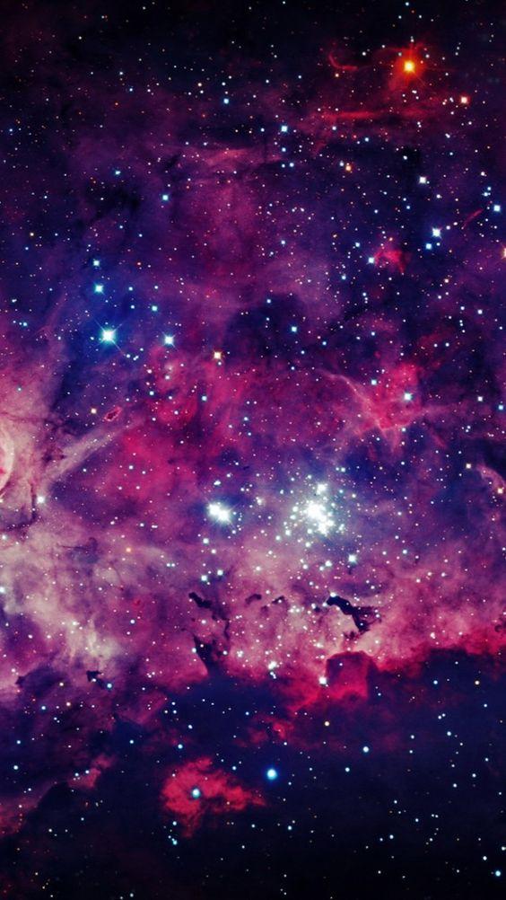 3D Galaxy Background