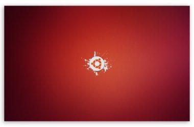 Red Ubuntu Wallpaper 22397