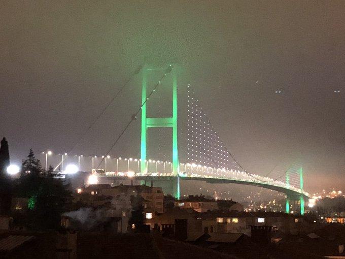 Top Bosphorus Bridge