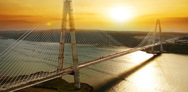 Widescreen Bosphorus Bridge