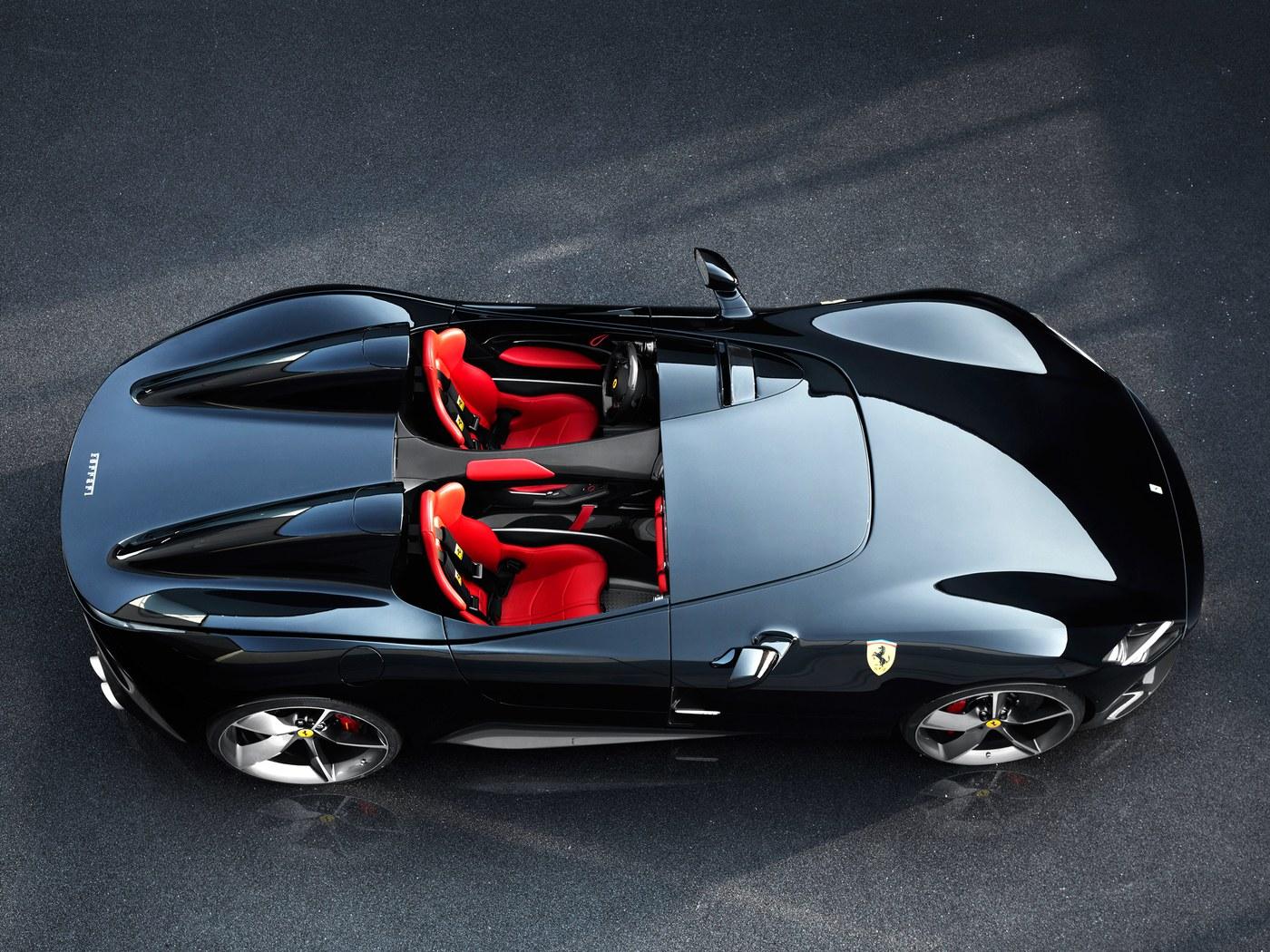 Black Ferrari Monza