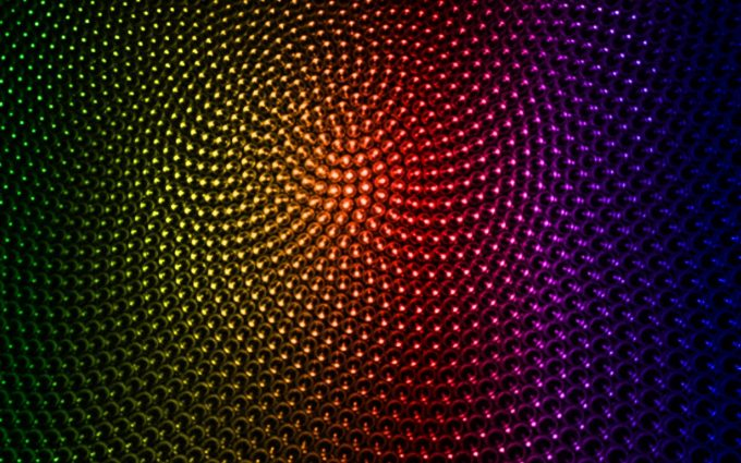 Floral Spectrum Wallpaper