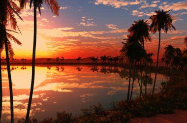 Nice Sunset 4K