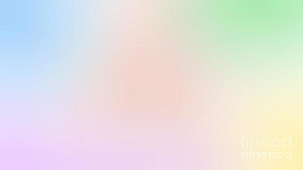 Blurred Pastel Image
