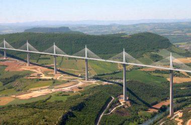 Beautiful Millau Viaduct 23564