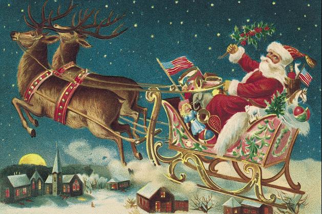 Fantastic Santa Claus Chariot