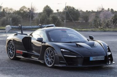 Black McLaren Senna