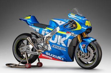Blue Suzuki GSX-RR