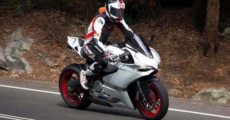 White Ducati Corse
