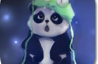 3D Cute Panda