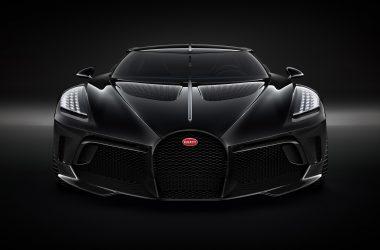 Black Bugatti La Voiture Noire
