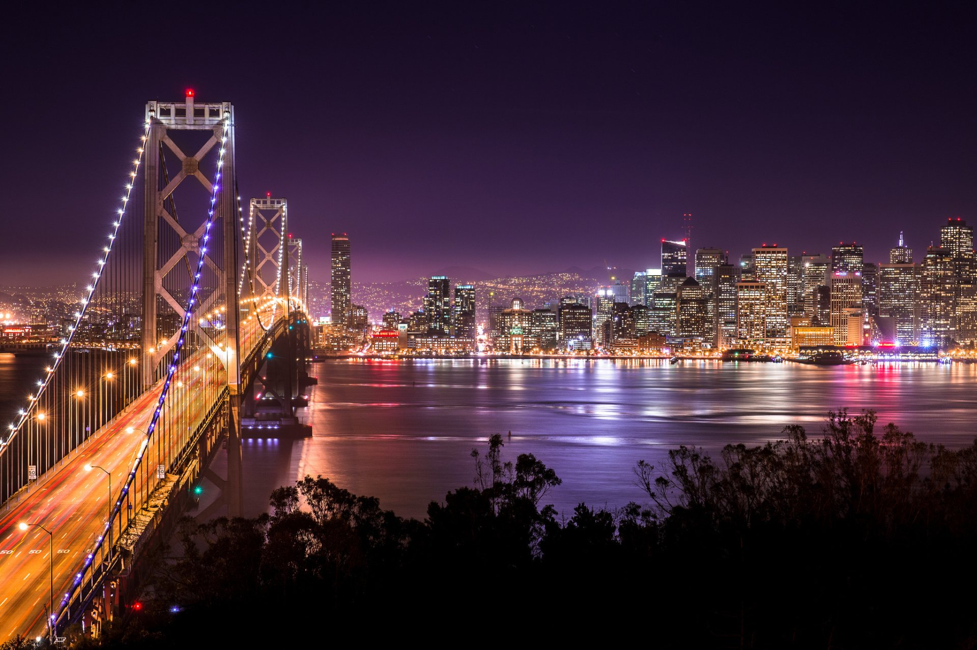 Stunning Bay Bridge Wallpaper