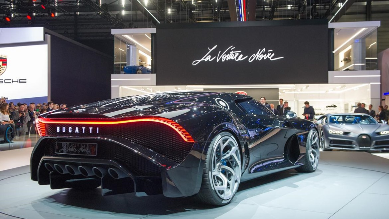 Super Bugatti La Voiture Noire