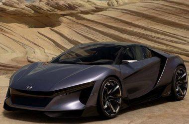 Black Honda NSX