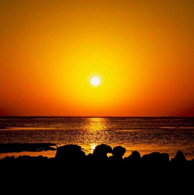 Nice Sunset Image