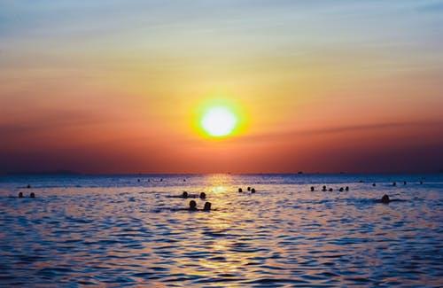 Cool Sunset Wallpaper
