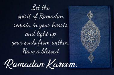 Nice Ramadan Wishes