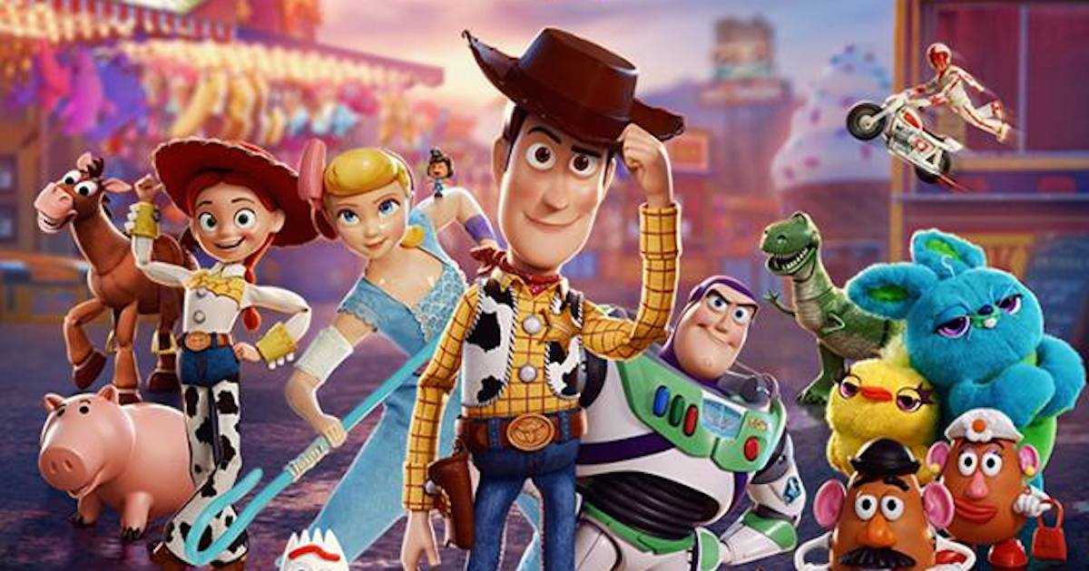3d Toy Story 4