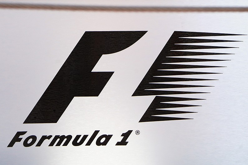 3D Formula 1 Logo