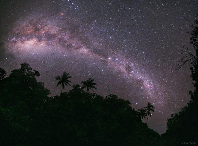Cool Milky Way